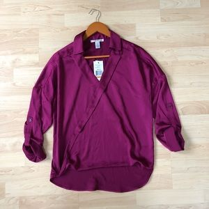 NEW Kenneth Cole New York 'The Gail' Blouse